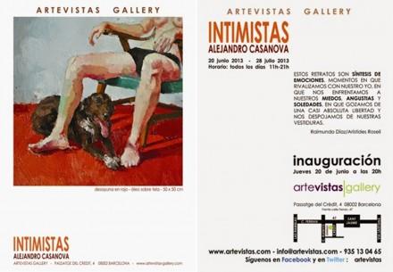 INTIMATE. 2013